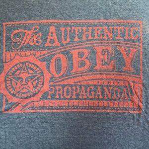 Obey Mens Size Medium T Shirt